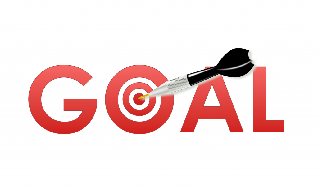 Setting a goal is one of our top five tips to start building your new website