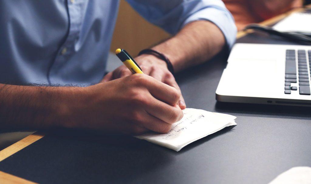 Starting a new website? Write a plan!